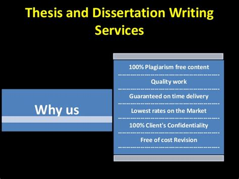 thesis and dissertation free thesis and dissertation writing services