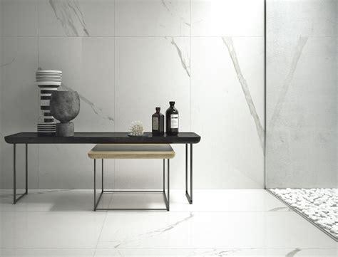pavimenti classici piastrelle in gres porcellanato bianco statuario classico