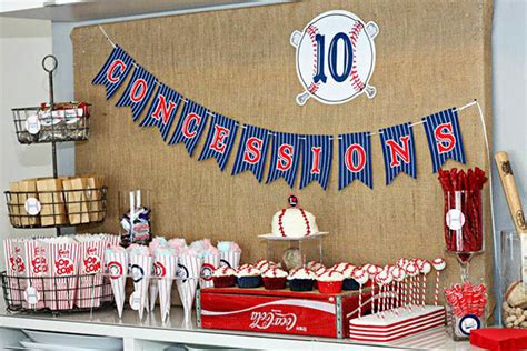 baseball themed events baseball party concessions b lovely events