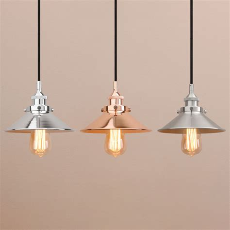 Modern Vintage Industrial Metal Black Loft Bar Ceiling Industrial Metal Pendant Lights