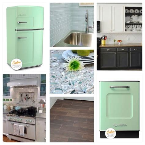 mint green kitchen appliances my kitchen big chill appliances in white and mint