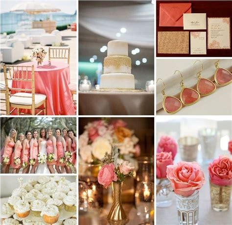 17 Best ideas about Coral Wedding Colors on Pinterest