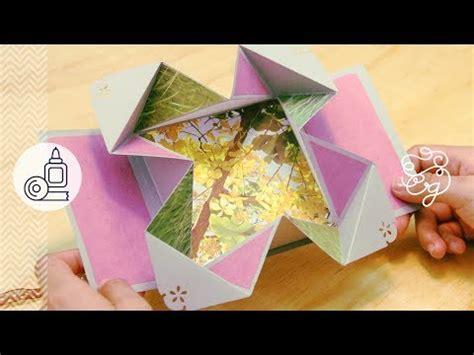 open scrapbook facil y original youtube newhairstylesformen2014com 3 tarjetas sobre pop open scrapbook facil y original