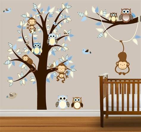 monkey nursery decor thenurseries