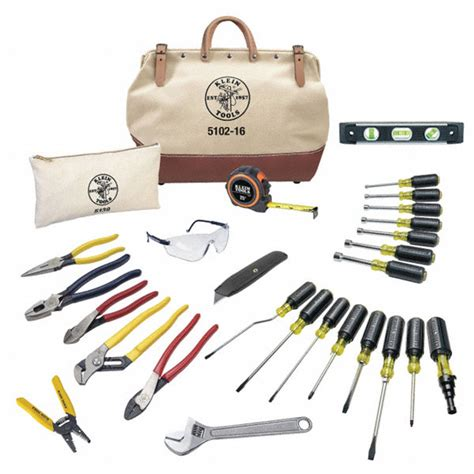 Granger Tools by Klein Tools 28 Pc Electricians Tool Kit 2vza9 80028