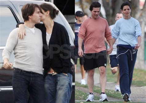 vanessa kirby real height photos of tom cruise and katie holmes running and kissing