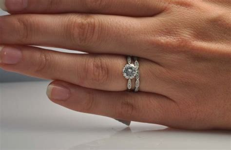 order of wedding band and engagement ring on finger engagement rings and wedding bands personal design
