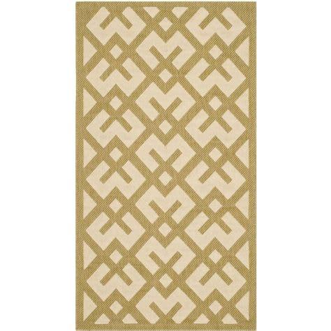 beige green safavieh courtyard beige green 2 ft x 3 ft 7 in indoor
