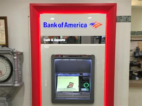 bank of america atm bank of america now lets you withdraw from atms using