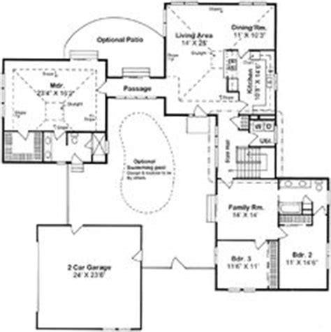 u shaped ranch house plans u shaped houses on pinterest u shaped houses courtyards