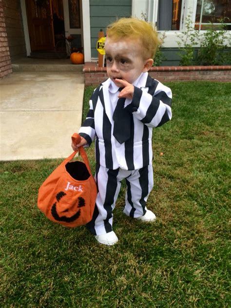 baby beetlejuice costume homemade toddler halloween