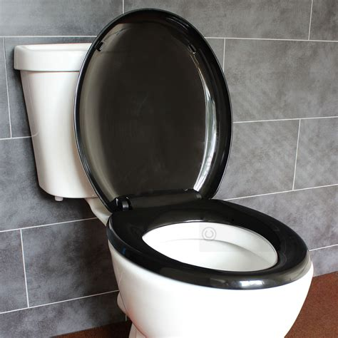 bathroom toilet seats bathroom soft close black oval toilet seat adjustable top