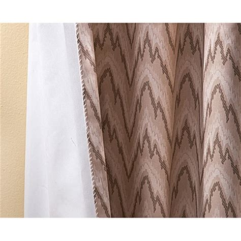 Aztec Print Curtains Aztec Stitch Print Insulated Curtains 164482 Curtains At Sportsman S Guide