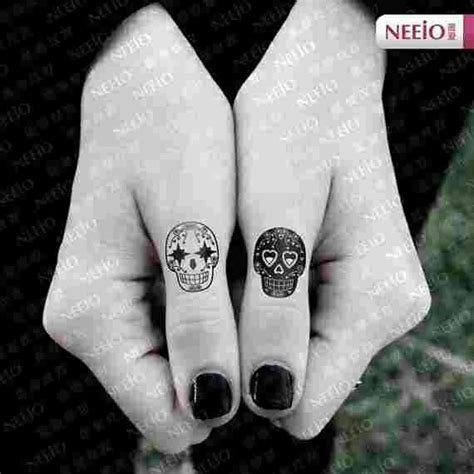 small cute skull tattoos small sugar skulls i the black and white