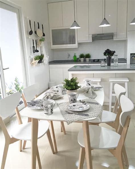 Meja Rumah Makan 32 model meja makan minimalis terbaru 2018 kayu kaca