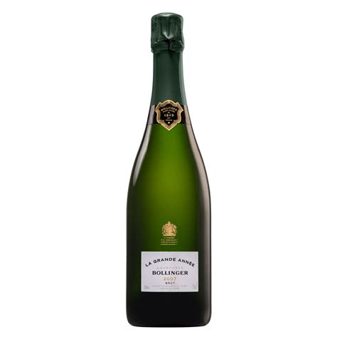 buy bollinger grande annee 2007 for home delivery