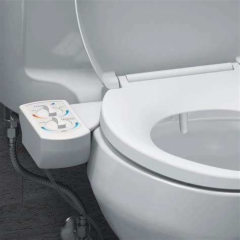 bidet toilette brondell freshspa dual temperature bidet toilet attachment