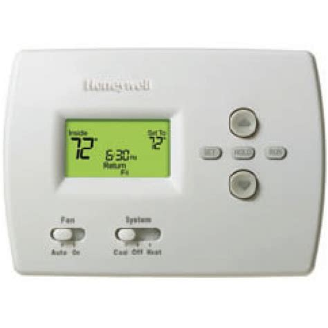 honeywell pro 4000 programmable heat thermostat