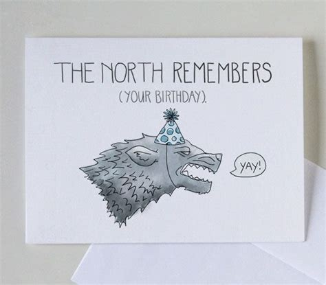 printable wolf birthday cards best 25 game of thrones cards ideas on pinterest