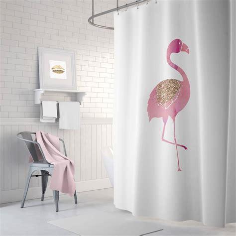 flamingo bathroom decor incredible flamingo shower curtain pink bathroom decor rose gol on fresh and clean p