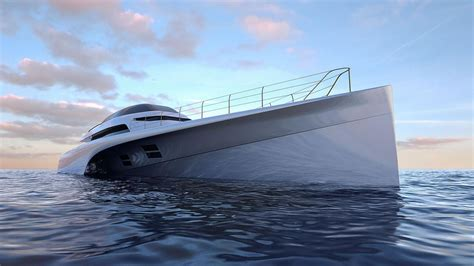 concept design unlimited design unlimited reveals mc155 trimaran concept boat