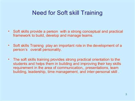 How Many Soft Skill Courses In An Mba by Soft Skill Need And Market Potential