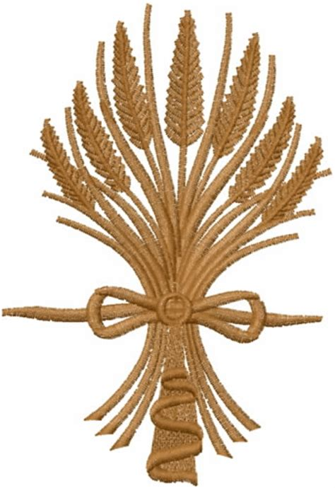 embroidery design wheat wheat bundle embroidery designs machine embroidery