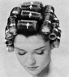 setting hair on rollers the curious ways of styling retro hair boss mare betty