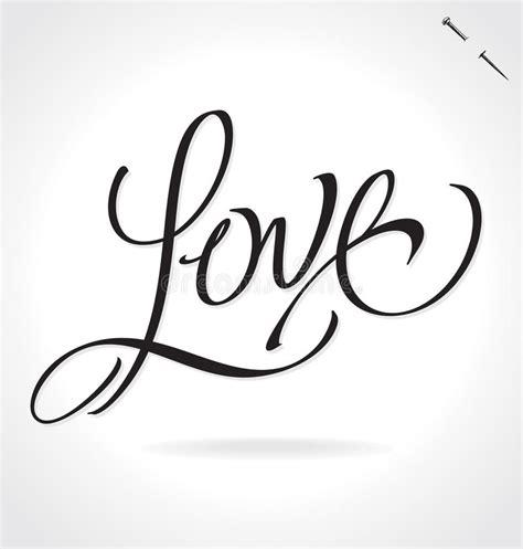 Handmade Lettering - lettering vector stock vector illustration