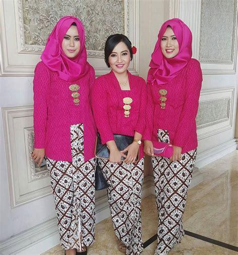 Dress Anggun Brokad Fanta 11 ide kebaya kutu baru yang bisa buatmu til