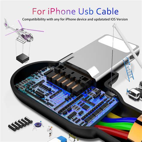 Kabel Lightning Braided 1 Meter 1 kabel charger lightning braided l shape 1 8 meter black jakartanotebook