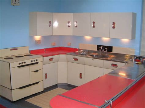 Warwickshire Kitchen Design by Vintage English Rose Metal Kitchen Cabinets From