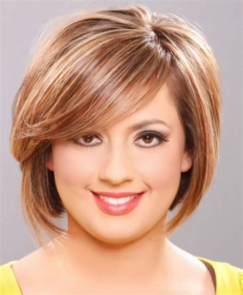 short hair fat face 56 cute short haircuts for fat faces hair pinterest