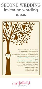 second marriage wedding reception invitations second wedding invitation wording invitations by