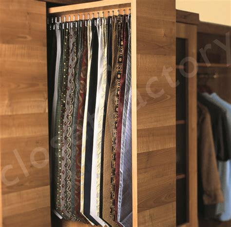Closet Tie Rack Organizers by Tie Organizer Products I