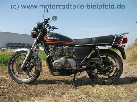 Suzuki Motorrad Gs 550 by Suzuki Gs 550 E Motorradteile Bielefeld De