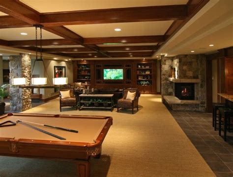 dream basement man cave home is where the heart is
