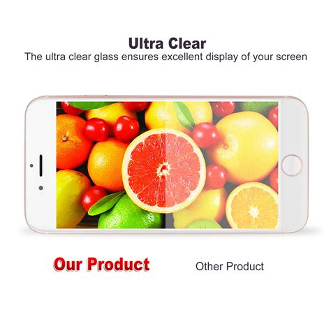 Tempered Glass 4d Iphone 7 8 4 7 White Back Jete 4d cover tempered glass screen protector for apple