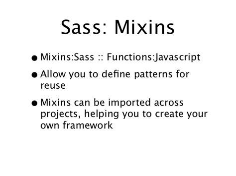 js mixin pattern sass compass
