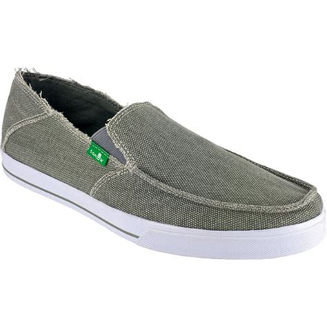 sanuk standard slip on shoes evo