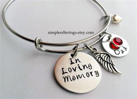 memorial bracelet in loving memory of by simpleofferings