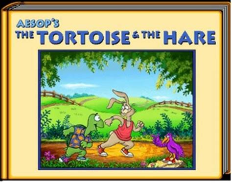 living the books aesop s fable the tortoise and the hare by