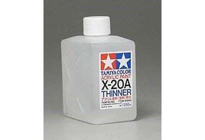 Thinner H tamiya acrylic alcool thinner x 20a 81040 250ml bottle
