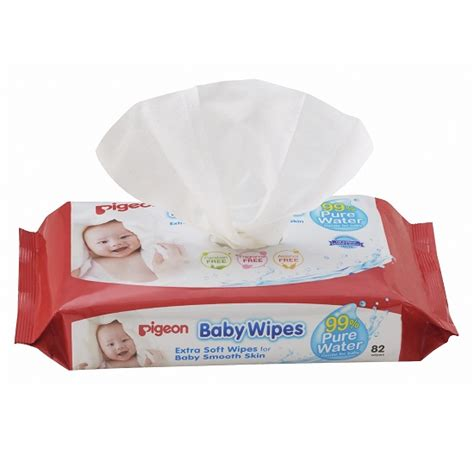 Baby Wipes by Baby Wipes 99 Water Pigeon Singapore And