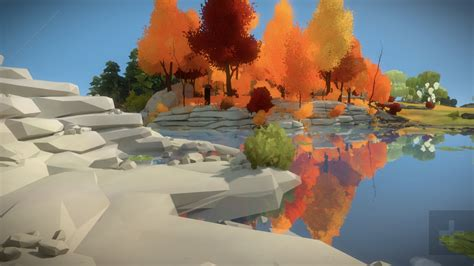 the witness the witness for ios brings you soothing graphics to