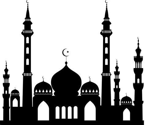 design stempel masjid mosque clipart islamic mosque pencil and in color mosque