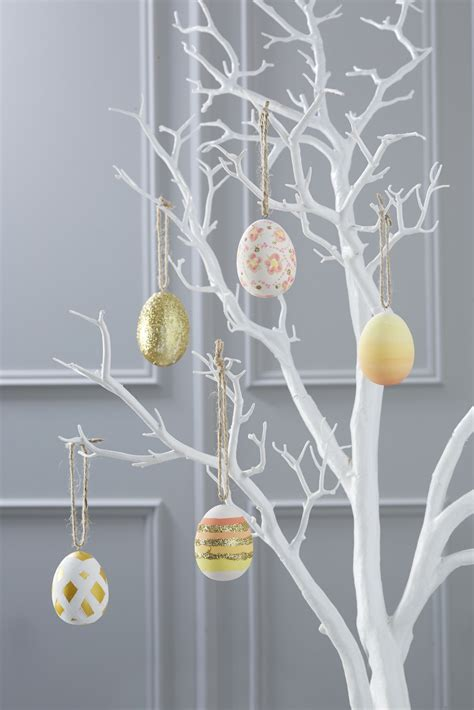 Twig Tree Home Decorating | how to make painted easter eggs hobbycraft blog