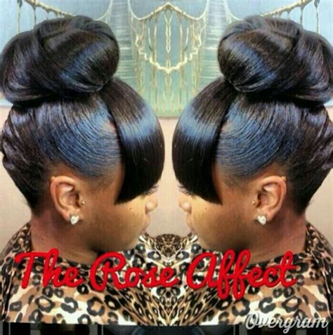 bun ponytails for black women 17 best ideas about black ponytail hairstyles on pinterest