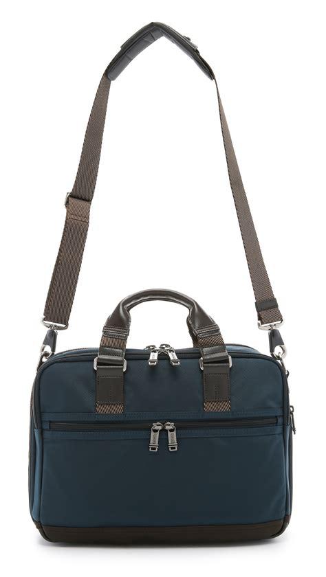 Tumi Voyaguer Ruth Soft Satchel Navy Original tumi alpha bravo andersen slim commuter briefcase in blue for navy lyst
