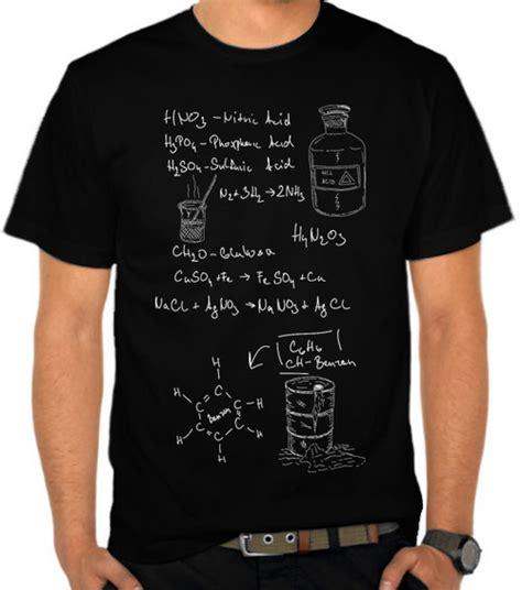 jual kaos rumus kimia 1 satubaju